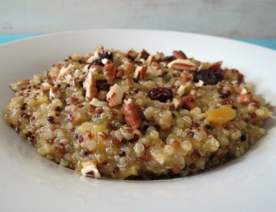 Winter Harvest Quinoa Oatmeal