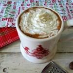 Eggnog Hot Chocolate #SundaySupper
