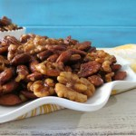 Sweet and Savory Mixed Nuts #SundaySupper