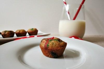 Mini Chocolate Chip Blondie Cookies
