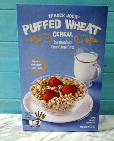 Trader Joe's Puffed Wheat Cereal
