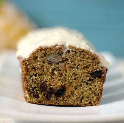 Banana Carrot Cake with Cream Cheese Frosting
