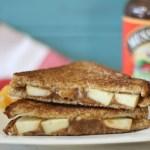 Peanut Butter and Apple Sandwich #AppleButterSpin