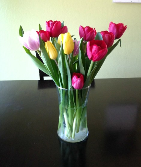 Rush of Color Assorted Tulip Bouquet!
