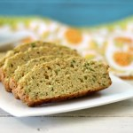 Savory Olive Oil Rosemary Zucchini Bread
