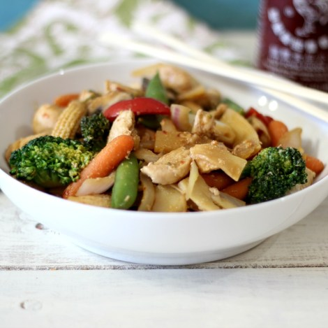 Spicy Chicken Stir Fry