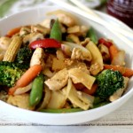 Spicy Chicken Stirfry
