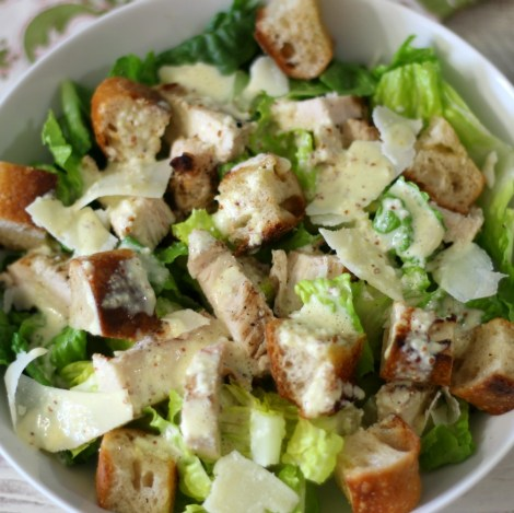 Chicken Caesar Salad #SundaySupper