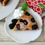 Blackberry Cake #SundaySupper