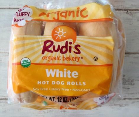 Rudis Orgainic Hot Dog Rolls