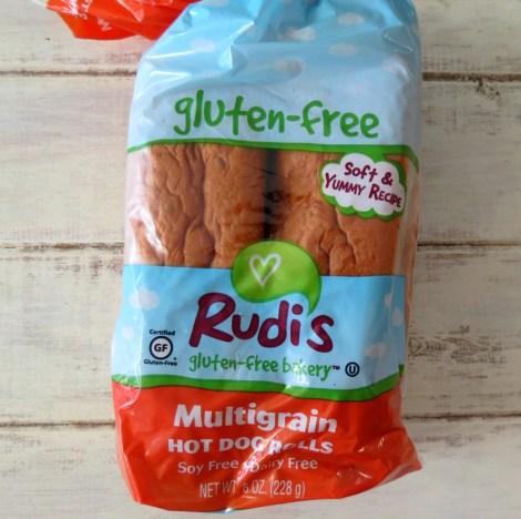 Rudis Orgainic Multigrain Hot Dog Rolls