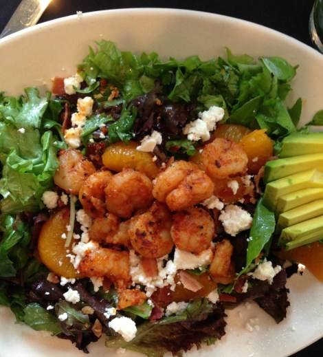 Bistro Byronz Blackened Shrimp Salad
