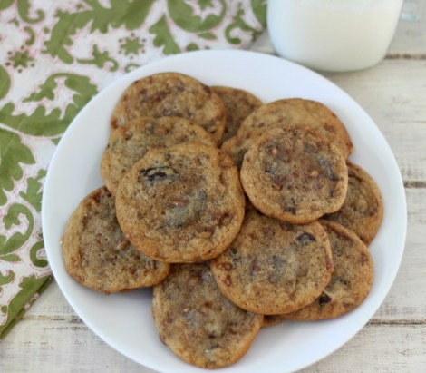 Chocolate Chip Toffee Cookies