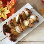 Pork and Apple Shish Kabobs