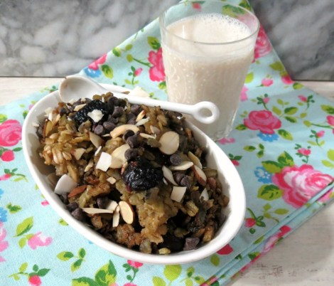 Cherry-Chocolate-Chip-Baked-Oatmeal
