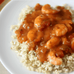 Louisiana Creole Shrimp with Brown Rice #PANWITHAPLAN #IMAGINENATION