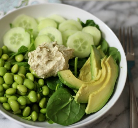 Green Protein Salad