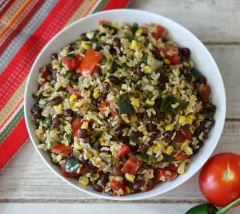 Vegetarian Mexican Rice Bowl
