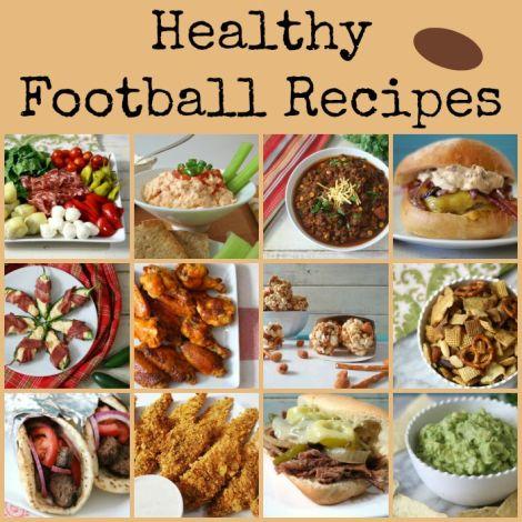 Healthy Football Recipes