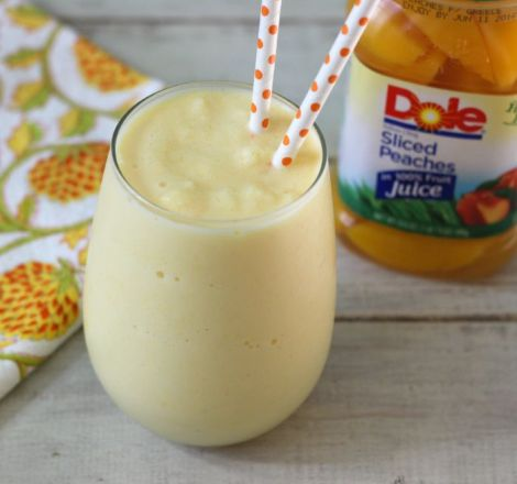 Peach Smoothie DoleJarredFruit AD @Dole Packaged