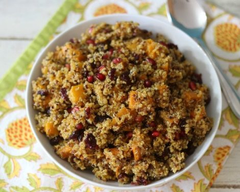 Butternut Squash and Quinoa