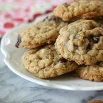 Oatmeal Cranberry Almond Cookies