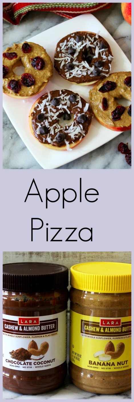 Apple Pizza #LaraNutButter #Larabar