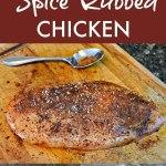 Grumpy Sullie and Spiced Chicken Recipe