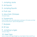 The Running 500 Workout