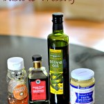 Homemade Honey Dijon Balsamic Dressing {Recipe}