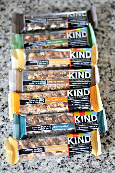 kind bars nuts and spices