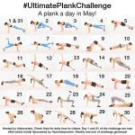 Take the Ultimate Plank Challenge…A Plank A Day in May!