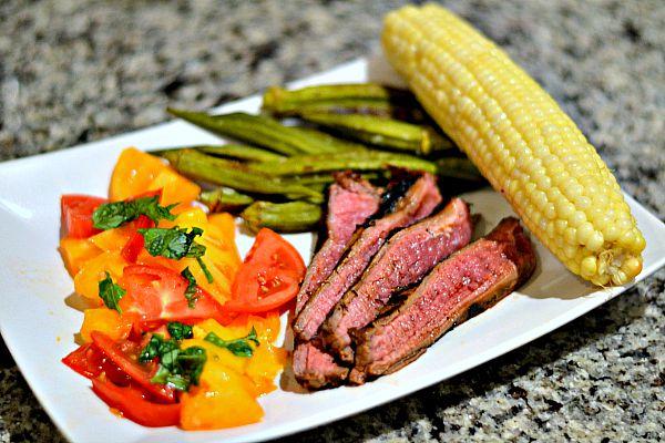 Flank Steak Dinner