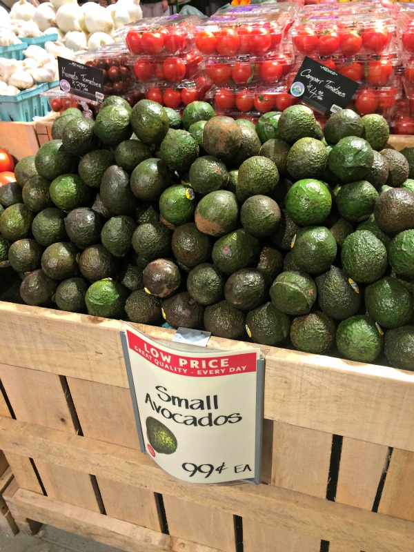 small avocados at whole foods