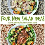 Four Healthy and Delicious New Salad Ideas {Gluten-Free, Dairy-Free, Whole30 Compliant}