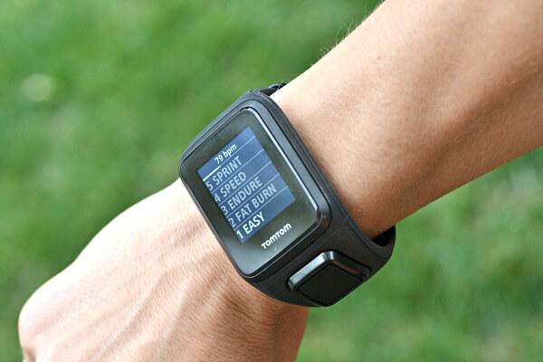 TomTom Spark Cardio + Music GPS Fitness Watch Workout Selection