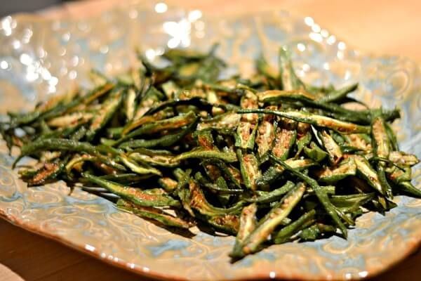 South Indian-Style Fried Okra