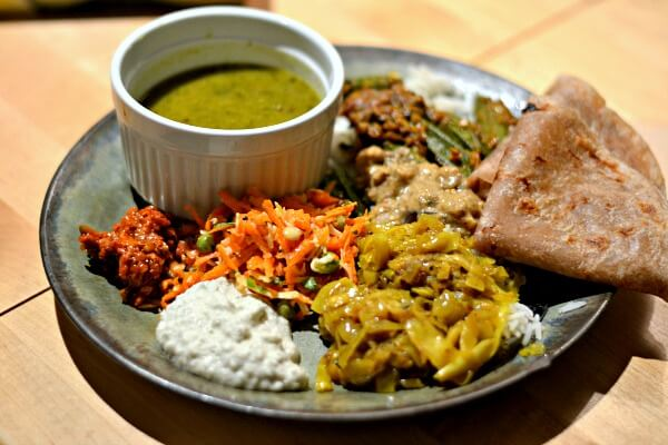 South Indian-Style Meal