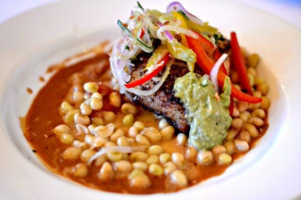 Sauteed Grouper at Marina Cafe