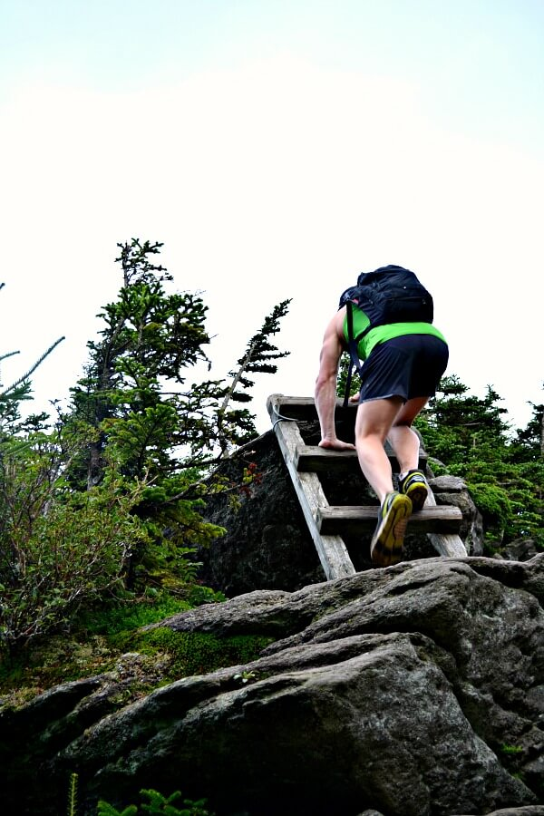 Hiking to Calloway Peak on Grandfather Mountain