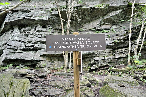 Shanty Spring Grandfather Mountain