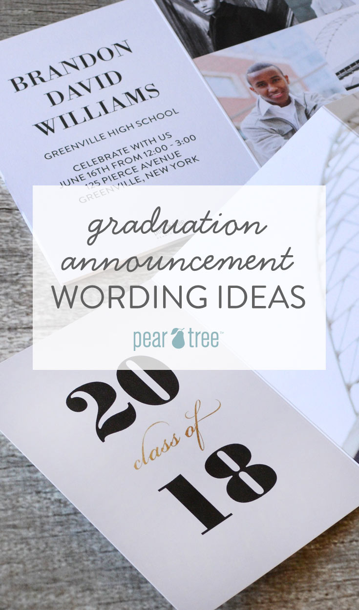 Large Of Graduation Announcements Wording