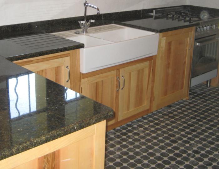 Ash kitchen cupboards
