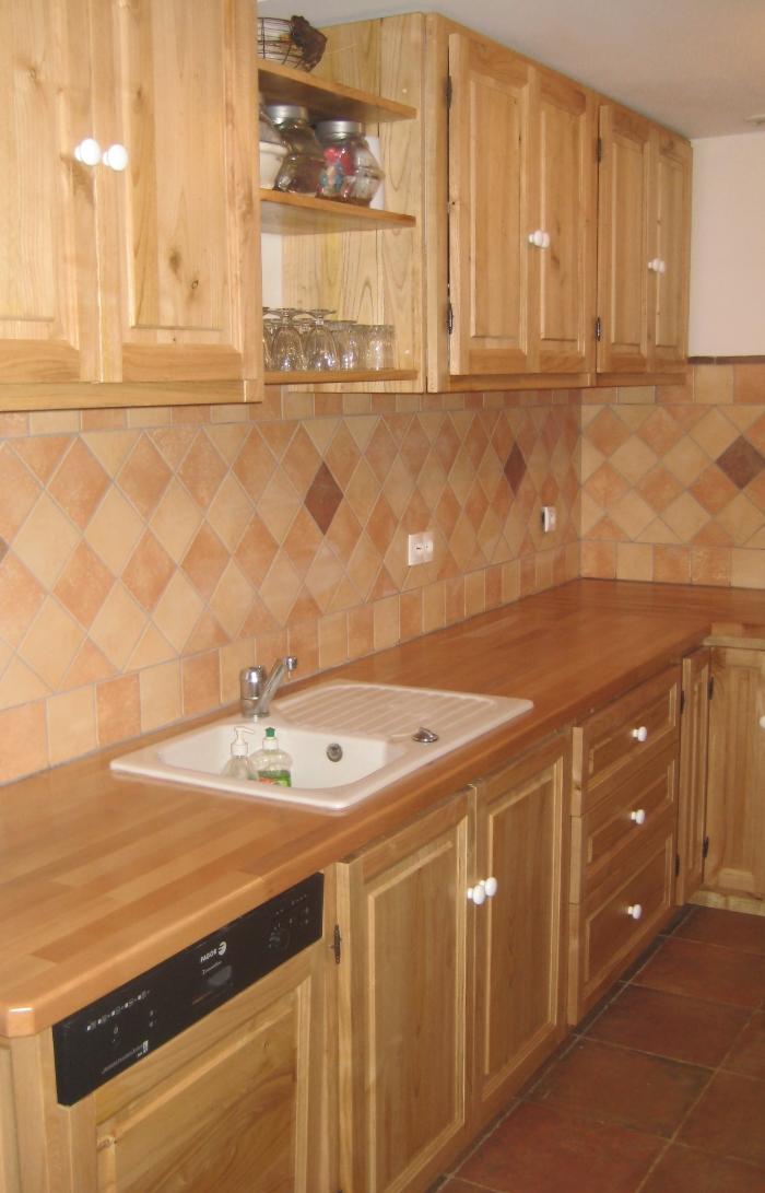 Chestnut Kitchen Cupboards