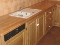 Chestnut Kitchen Cupboards