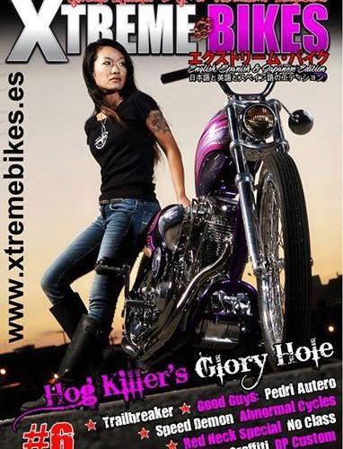 Reportaje sobre Pedri Autero en Xtreme Bikes