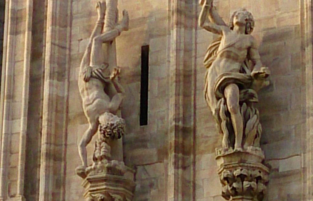 El diablo se viste en Milán