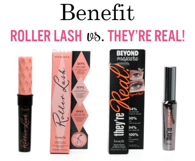Benefit Roller Lash vs. They're Real