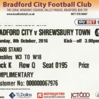 Bradford City vs Shrewsbury Town