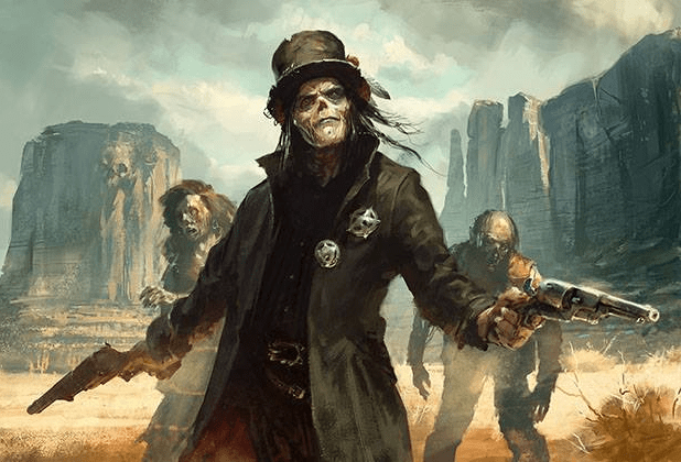 Image result for deadlands art